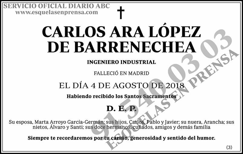 Carlos Ara López